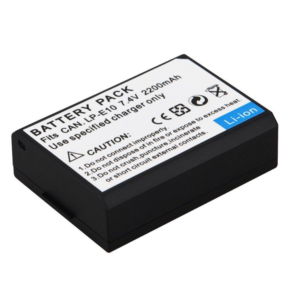 Third Party Battery Canon LP-E10 2200mAH For Canon EOS 1300D - 1100D