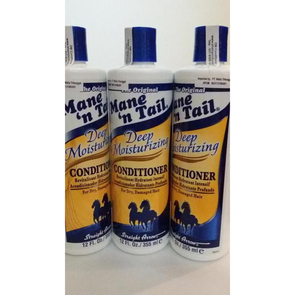 Shampoo And Conditioner Mane N Tail Deep Moist/Shampo Kuda Murah