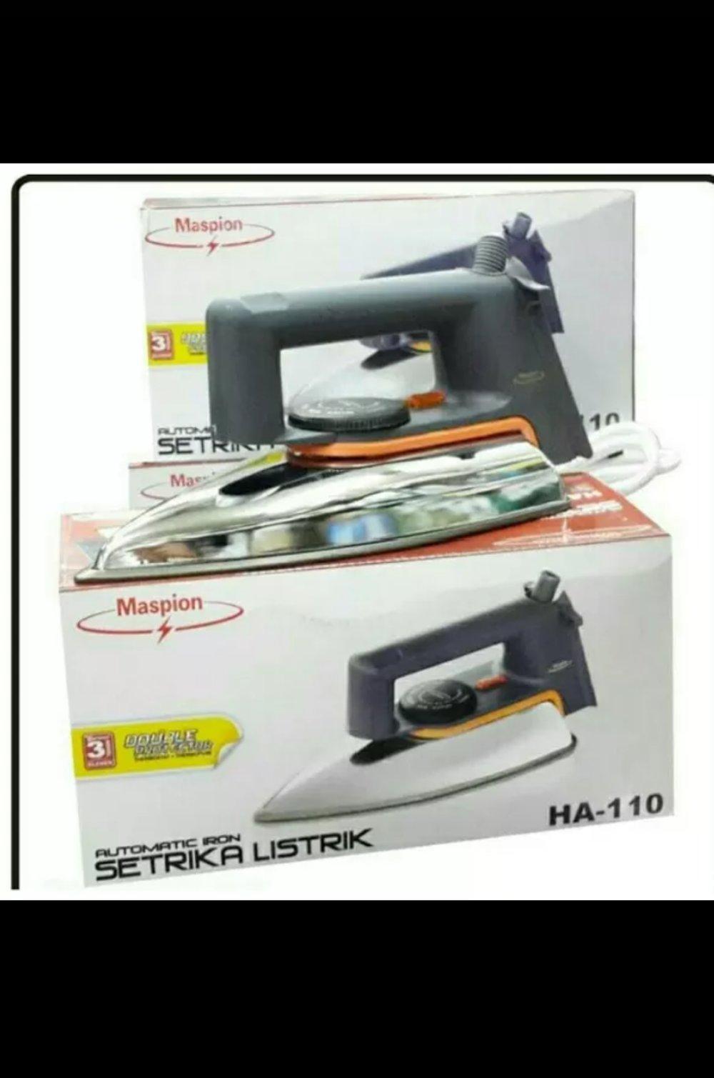 Setrika Maspion HA-110 BEST SELLER  PALING MURAH Sejabodetabek