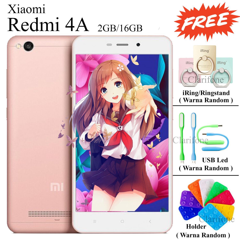 Xiaomi Redmi 4A - Ram 2GB - Rom 16GB - 4G/LTE - MIUI Sudah Global