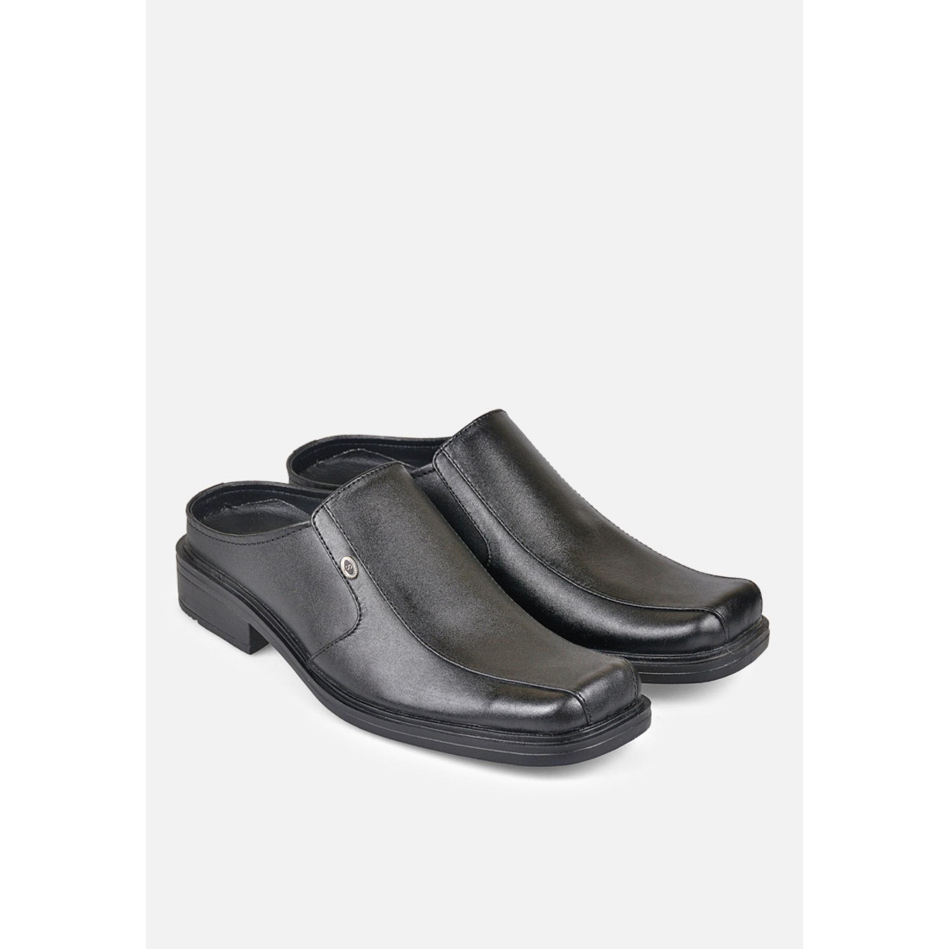 Garucci Sepatu Slop Casual Pria Kulit Asli Gaw 0289 Hitam Spec Dan Gda 9070 Anak Laki Sintetis Keren Update Source