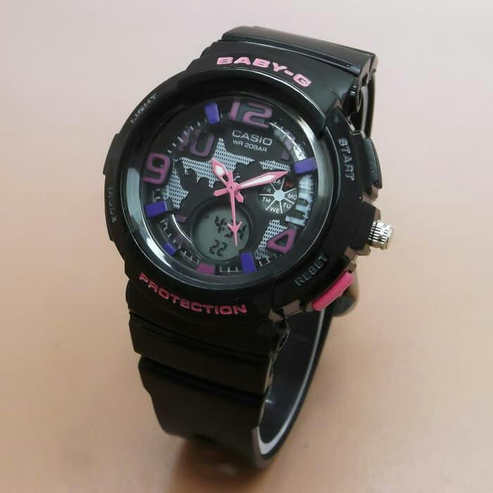 Casio Baby G Color Series Jam Tangan WANITA FASHION SPORT DUAL TIME
