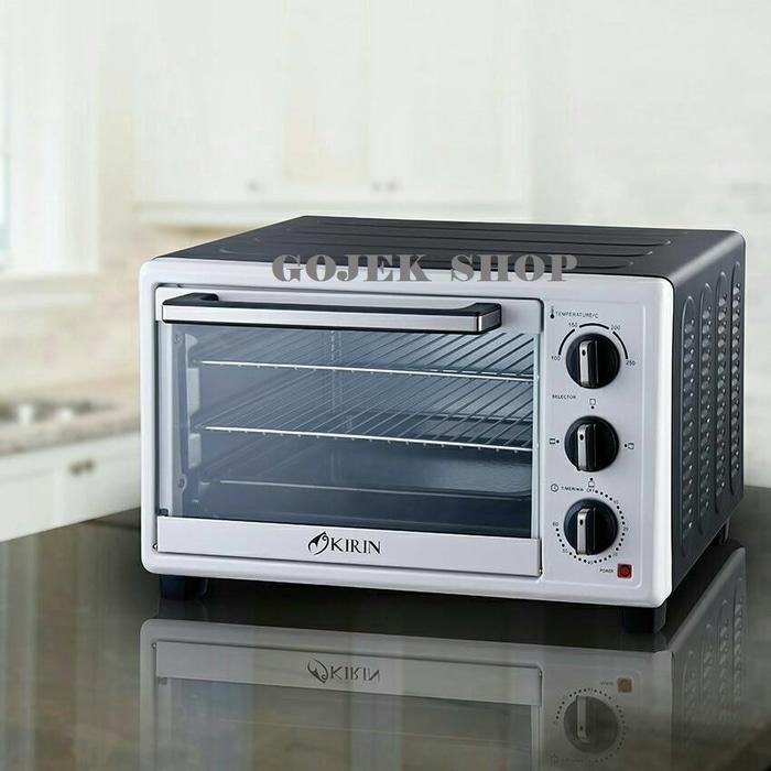 Oven Listrik Kirin KBO-190 LW Oven Listrik [19 Liter] LOW WATT