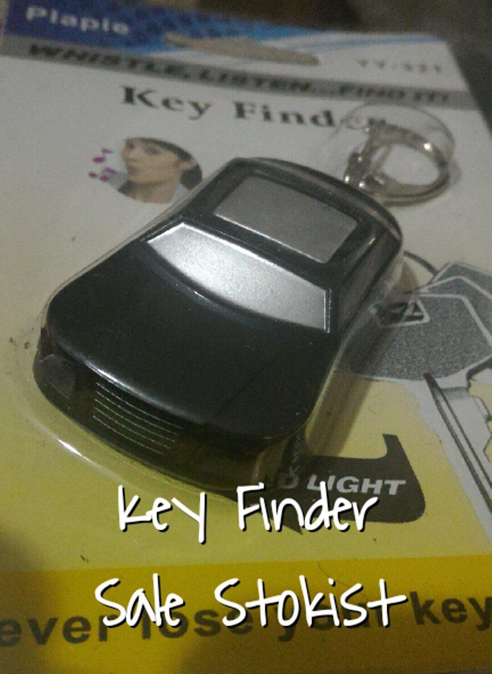 key finder alaram suara bunyi gantungan kunci alarm on off penemu kunci rumah mobil sepeda motor toko kantor garasi gudang senter led merah lampu di lapak SALE STOKIST sale_stokist