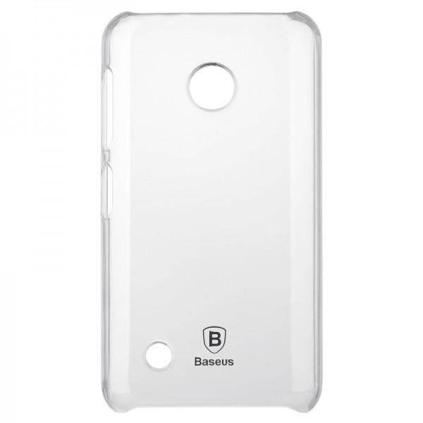 PROMO TERBATAS!!! Baseus Sky Case For NOKIA Lumia 530 White Terbaru