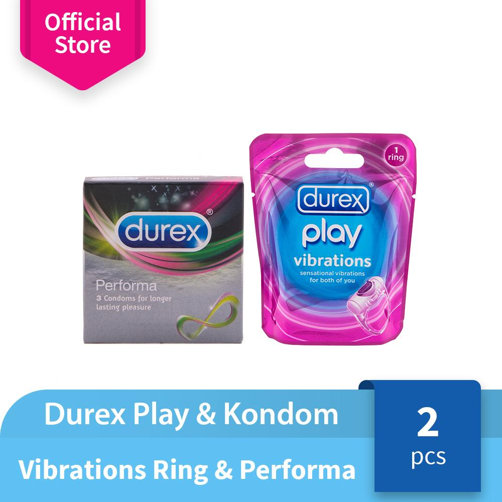 Durex Play Vibrations Ring + Performa 3s