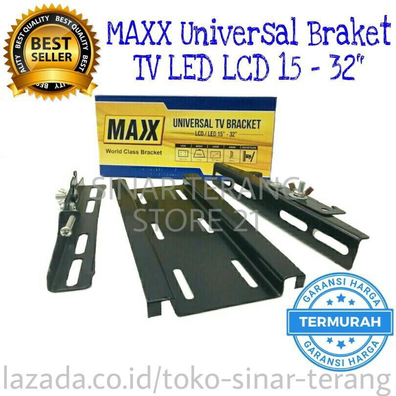 SinarTerang - MAXX Braket TV FLEXIBEL LED / LCD 15-32
