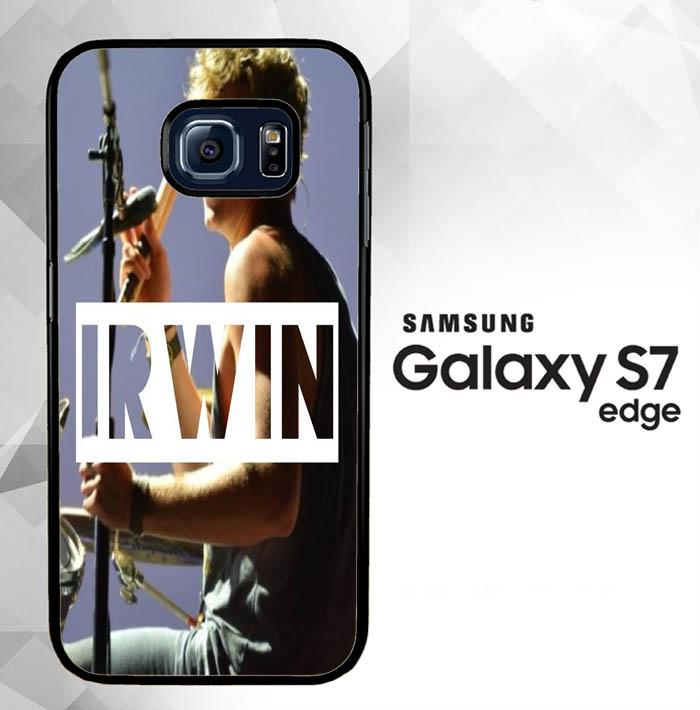 5 Second Of Summer Irwin O3417 Samsung Galaxy S7 Edge