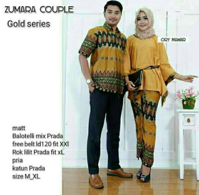 Baju Batik Couple/ Batik Sarimbit / Baju Batik Kondangan / Batik Couple / Hem Batik