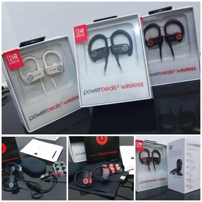 Powerbeats 3 Wireless Earphone Bluetooth Beats by Dre In-Ear Headphone
