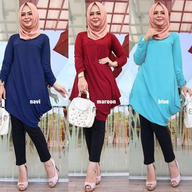 Fitur Damai Fashion Jakarta Baju  Tunik Wanita  Muslim