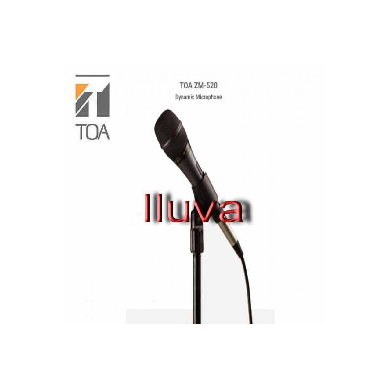 Toa Microphone Zm 520 Update Daftar Harga Terbaru Indonesia Mic 270 Kabel Original