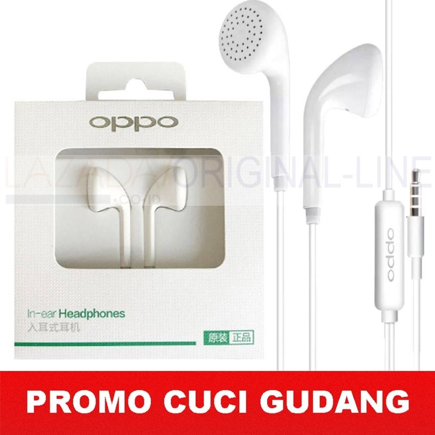 Handsfree Oppo MH133 Music Smart Call Headset / Hansfree Phones Oppo A37, F1s, F3, A39 Connected Oppo Headset