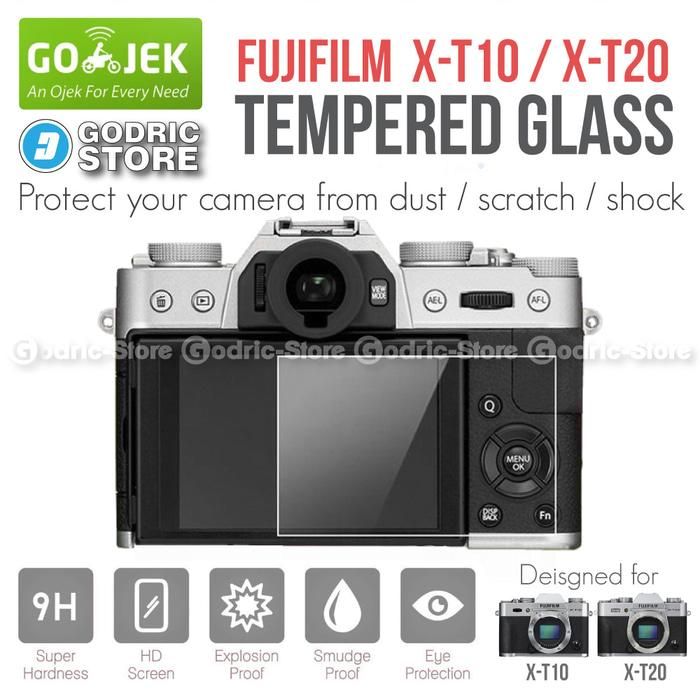 Fujifilm X-T10 / XT10 / X-T20 / XT20 LCD Tempered Glass Anti Gores