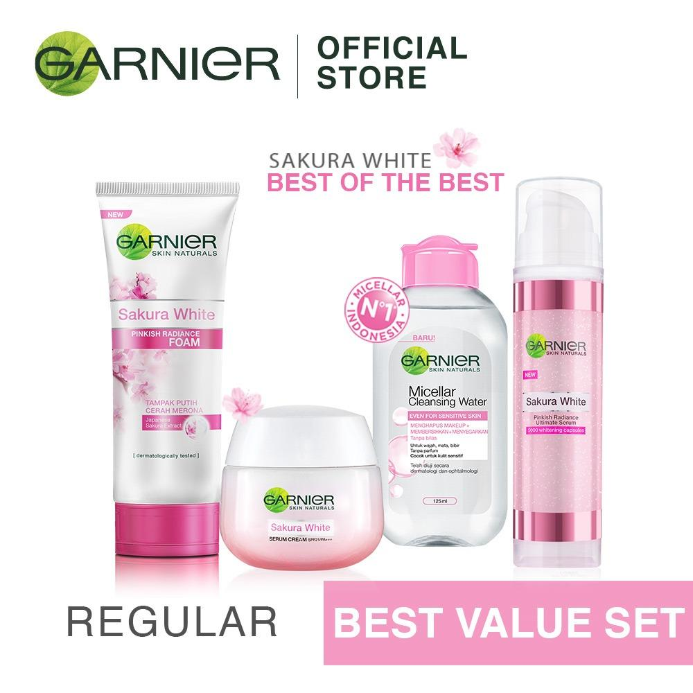 BIG DEALS Garnier Sakura White Best Of The Best - Harganya Makin Murah
