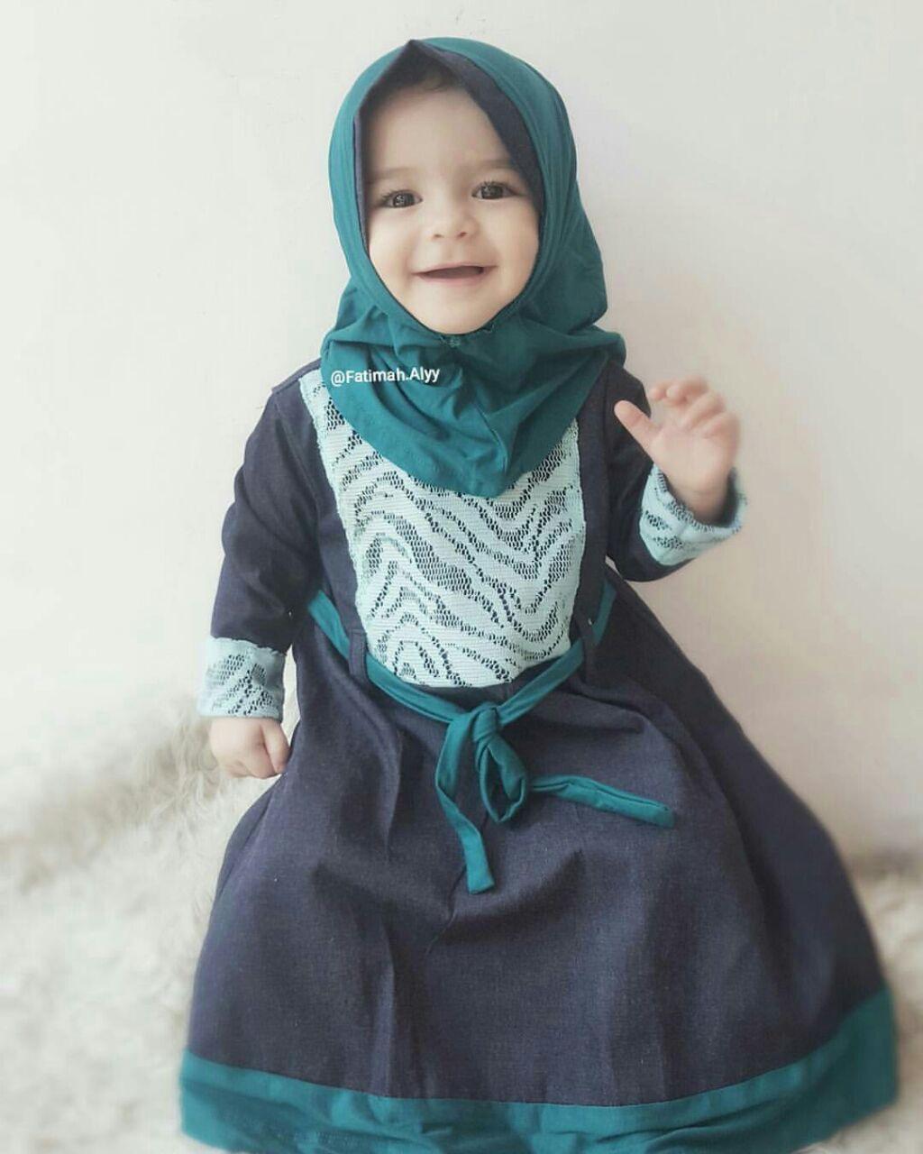 baju muslim anak murah surabaya I gamis anak cantik I ivana