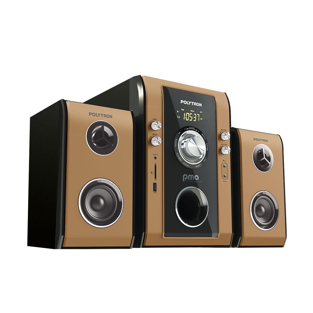 POLYTRON PMA-9503 Multimedia Audio Speaker Aktif - Khusus JADETABEK