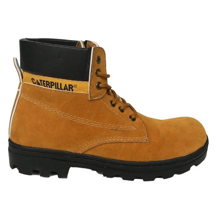 Sepatu caterpillar hitam suede. sepatu gunung caterpillar sepatu safety  caterpilar safety shoes sepatu boot pria a37d9dc06c