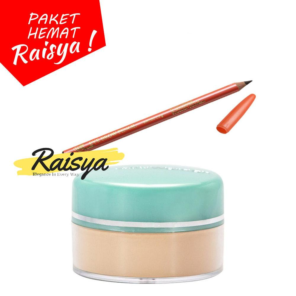 Wardah Everyday Luminous Face Powder - Bedak Tabur 02 Beige Free Viva Pensil Alis