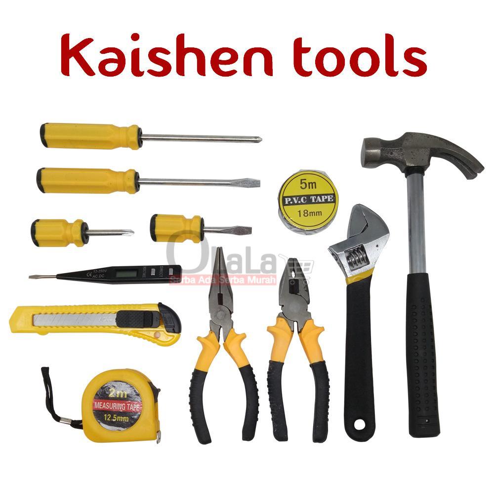 Fitur Kunci Tool Box Set 12 In 1 Hardware Alat Pertukangan Sok 10 Pcs Sock Socket Wrench Multifunction Yy 001 5