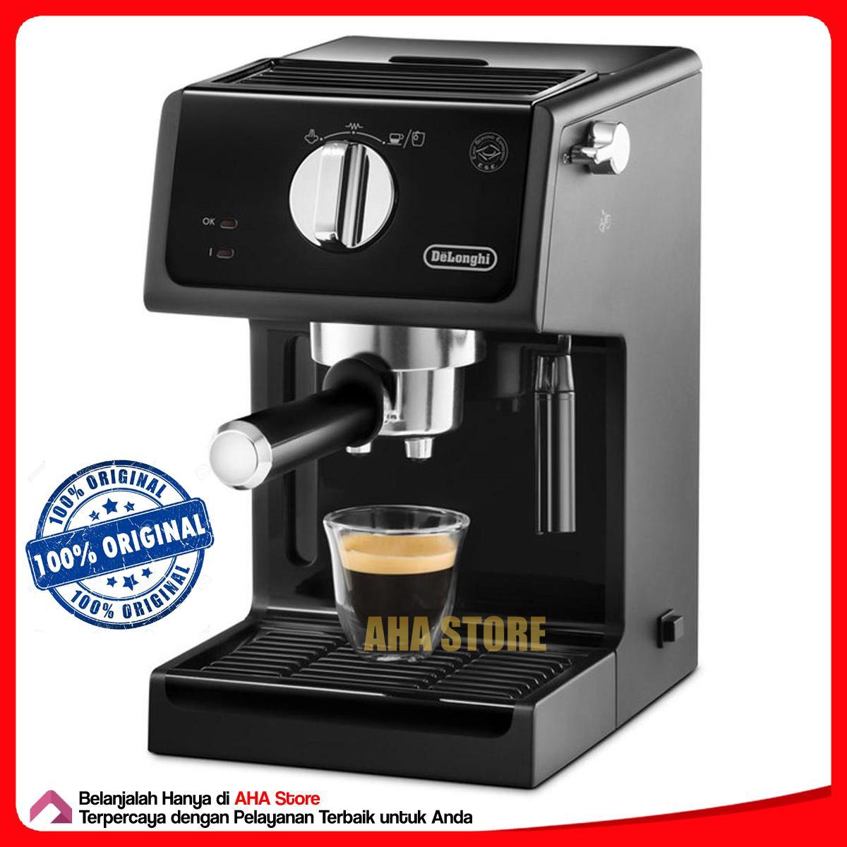 Delonghi Coffee Maker Mesin Kopi Espresso ECP 31.21