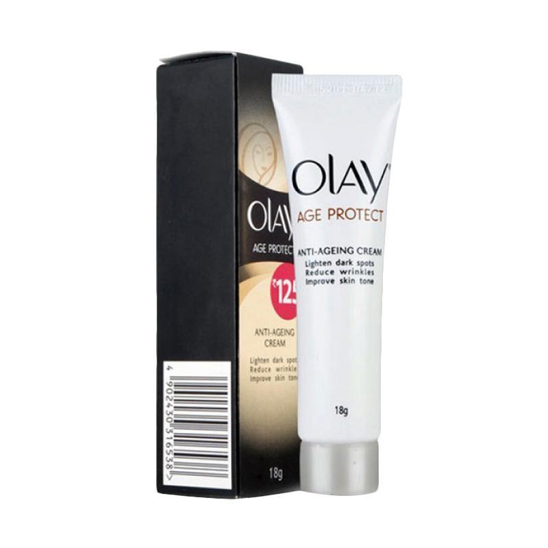 Olay Age Protect Cream 18gr Facial Care Perawatan Wajah Alami - Best Seller