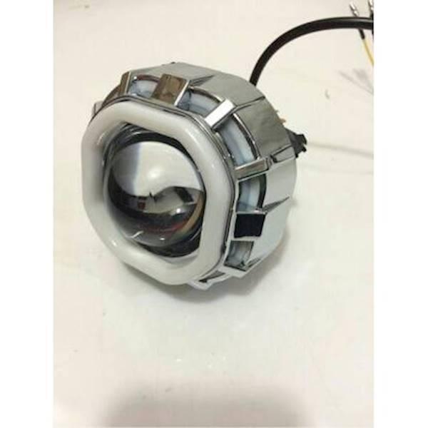 Lampu Utama Headlamp Led Cree Projie Double AE - Model KOTAK DAN BULAT