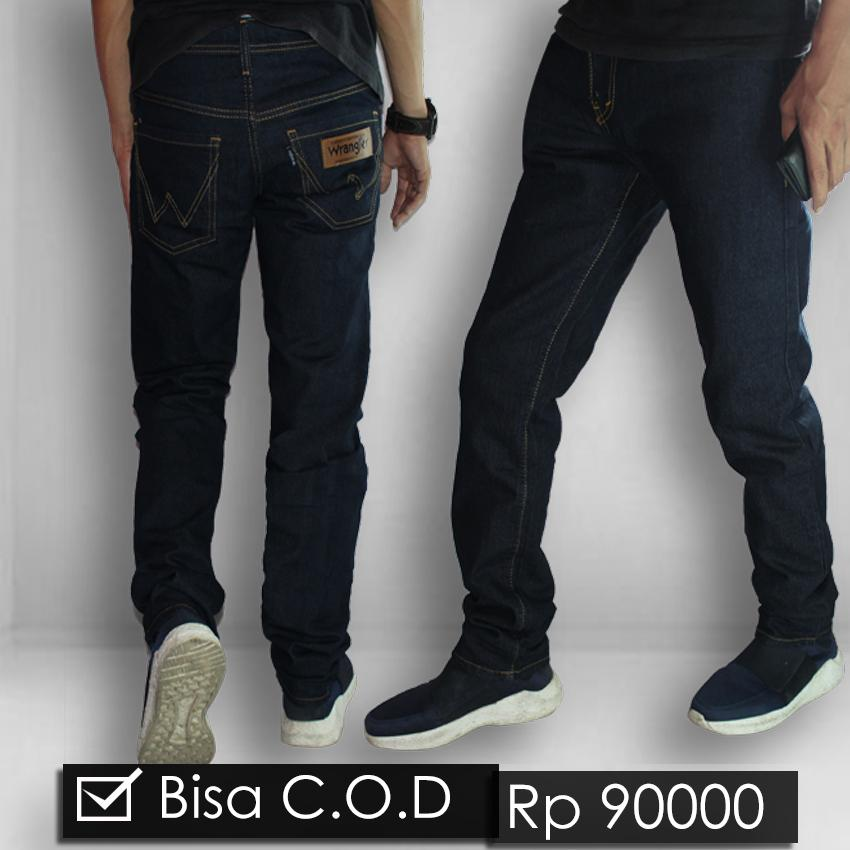 Celana Jeans Wrangler - Pria  Fit Skinny Stretch