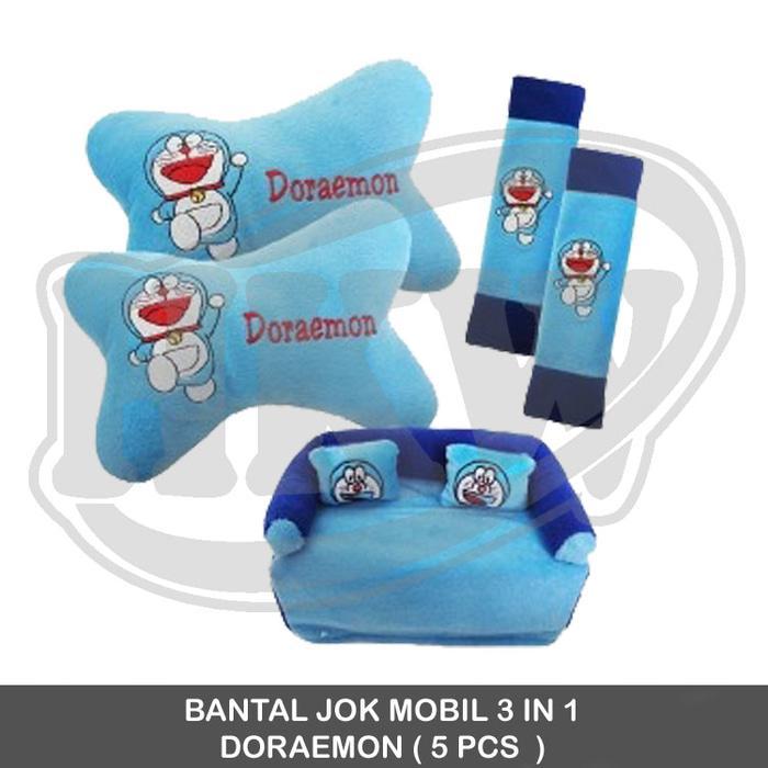 Bantal 3 In 1 Doraemon Mobil Mitsubishi Kuda