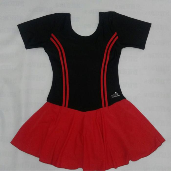 Baju Renang Untuk Dewasa/Remaja Model Rok Bahan Lentur - JG4PRB