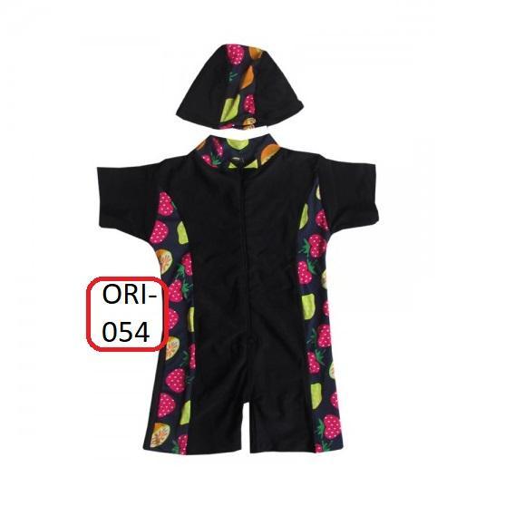 Baju Renang Bayi Unisex List Motif - M054