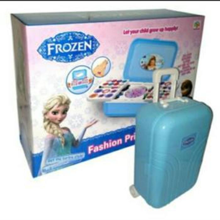 PALING DICARI Mainan Make Up Frozen Trolley Koper MAINAN ANAK PEREMPUAN TERLARIS