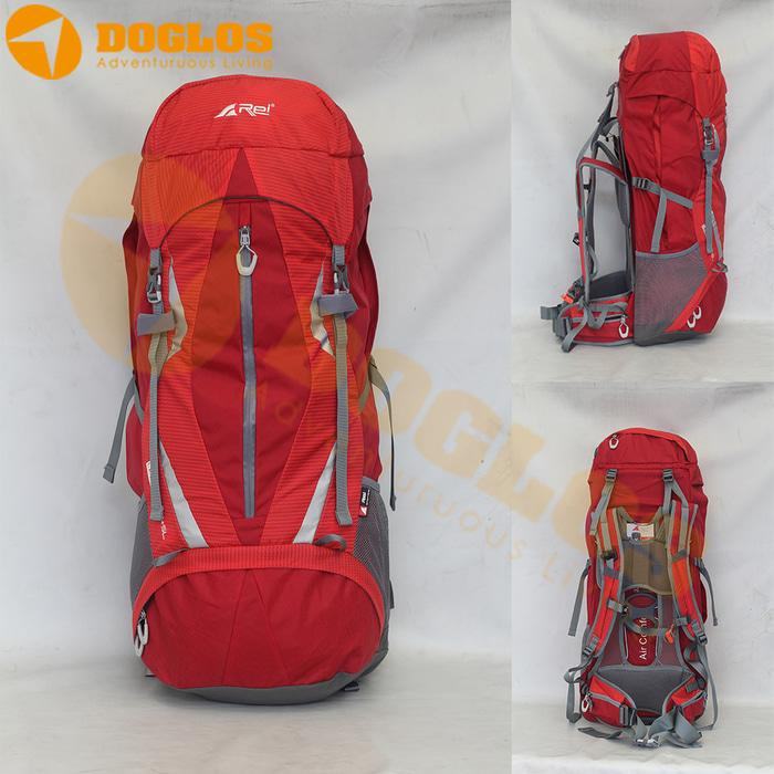 Tas Carrier Rei Leuser 65 + 5L All Mountain Gunung Hiking Outdoor