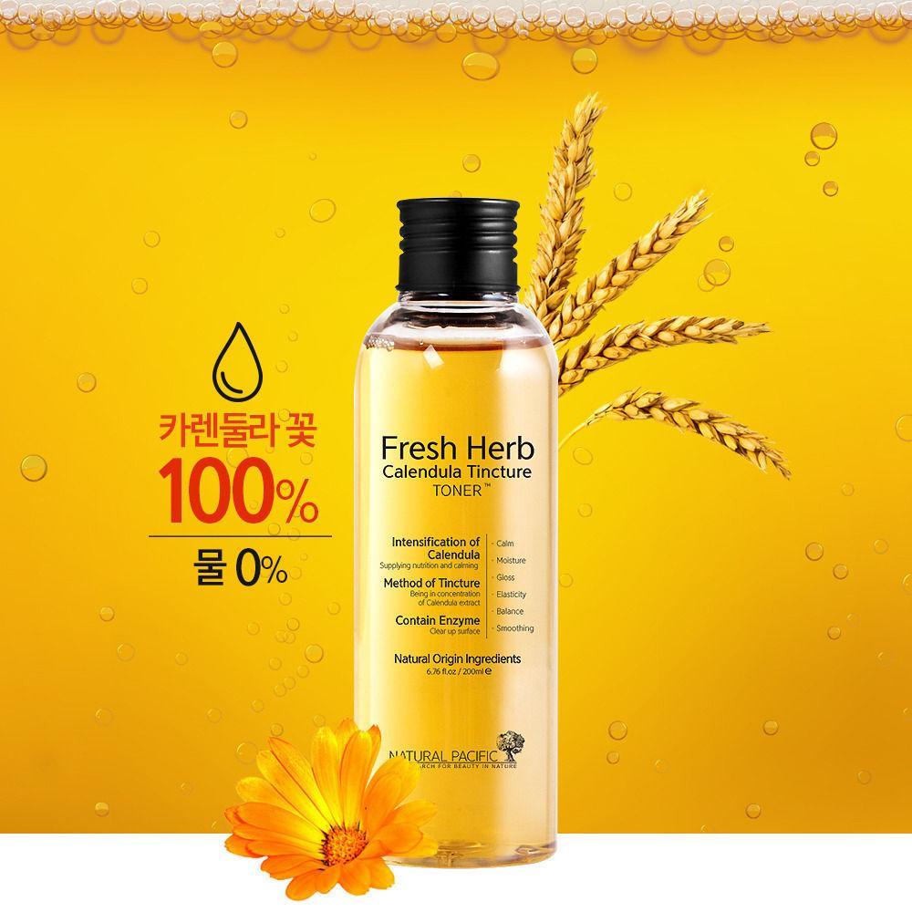Natural Pacific - Fresh Herb Calendula Tincture Toner size 200 ml