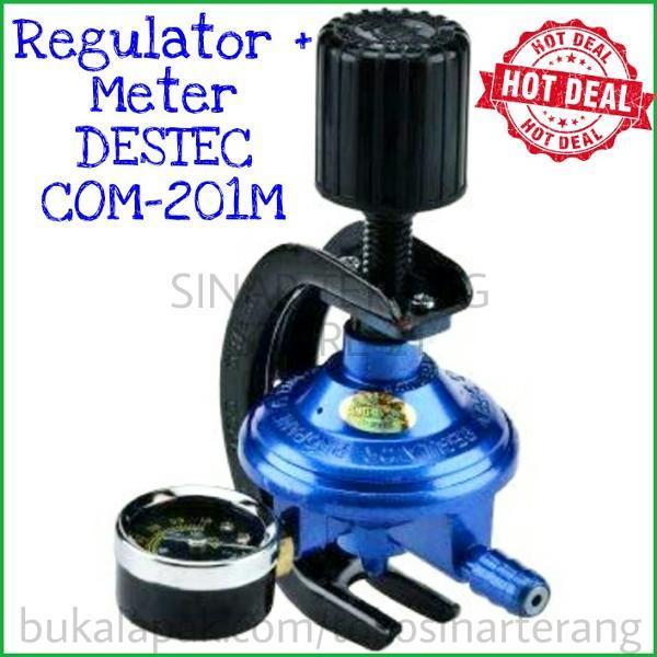 Regulator DESTEC METER 201-M Pengaman Putar Aman Anti Bocor COM201M not quantum miyako cosmos win gas Bagus Grosir Murah