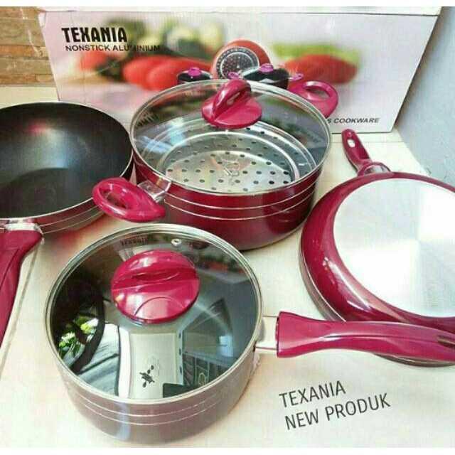 Panci Teflon Cookware Set 7Pcs