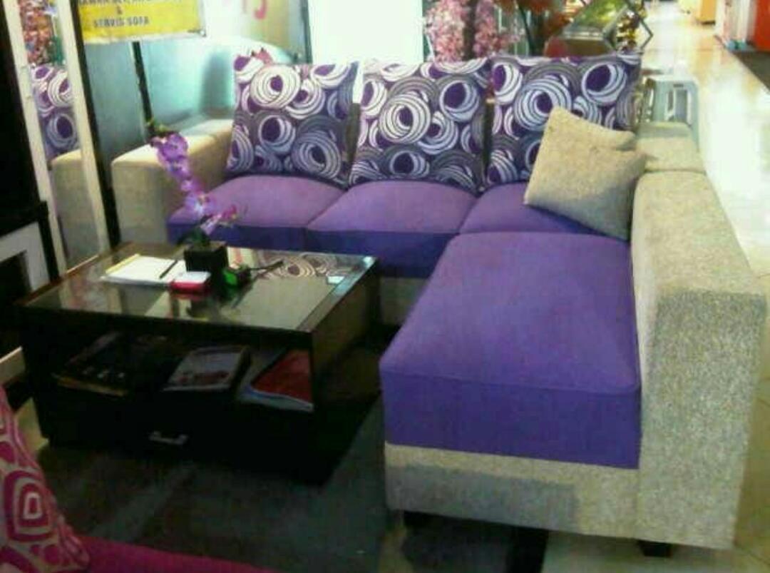 sofa L putus minimalis - 2 ...