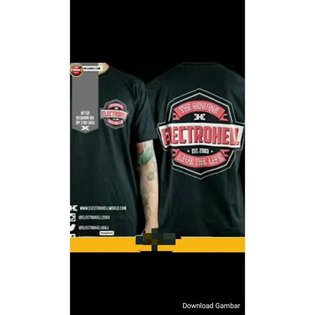 T Shirt Baju Kaos Electrohell Elektrohell - Sale Promo!!