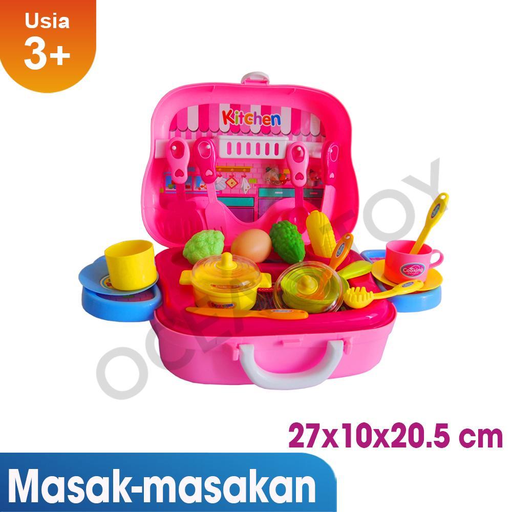 Mainan Anak Cewek Kitchen Set Koper Lazada Birthday Promo Murah