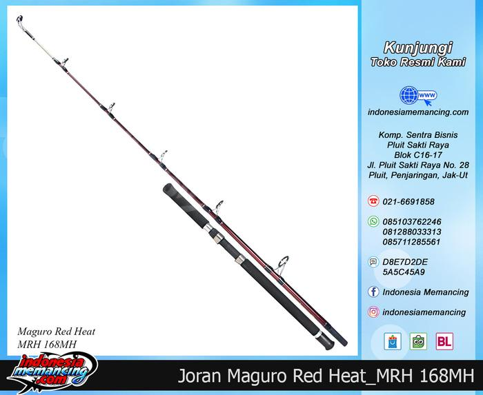 Joran Laut MAGURO RED HEAT Panjang 168MH - tP05k1
