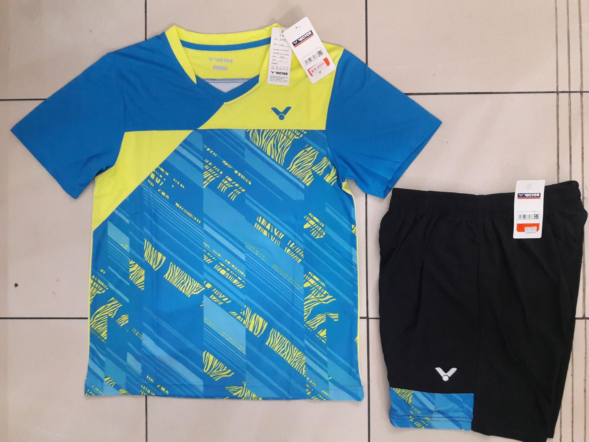 Baju stelan badminton + celana badminton