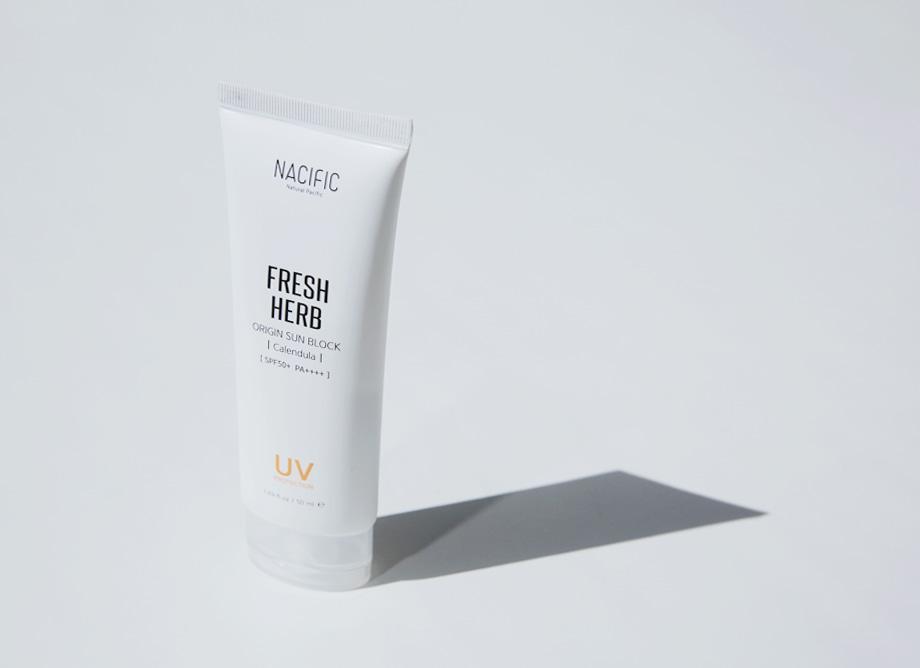 NACIFIC (Natural Pacific) Fresh Herb Origin Sun Block Cream SPF50+/PA++++ (50ml) Calendula