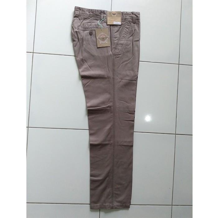 Celana Panjang Katun Tebal Wash Chino/Pria/Laki/Wanita/Katun HR 803 - A68j90