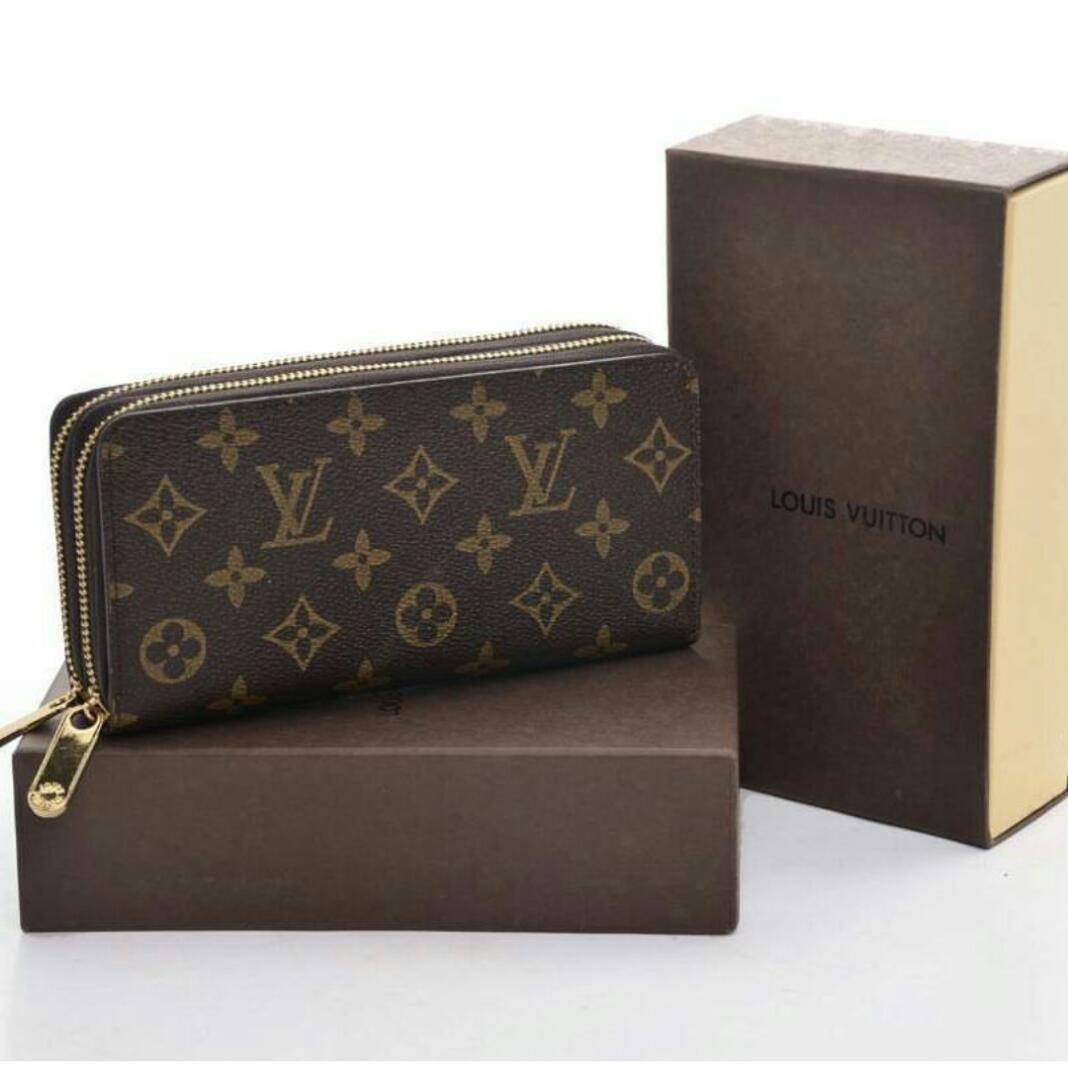 Dompet LV Louis Vuitton 2 Sleting 078 Fashion Tas Wanita Tas Import Tas Cewek Bag Import Ransel Branded Kualitas Premium