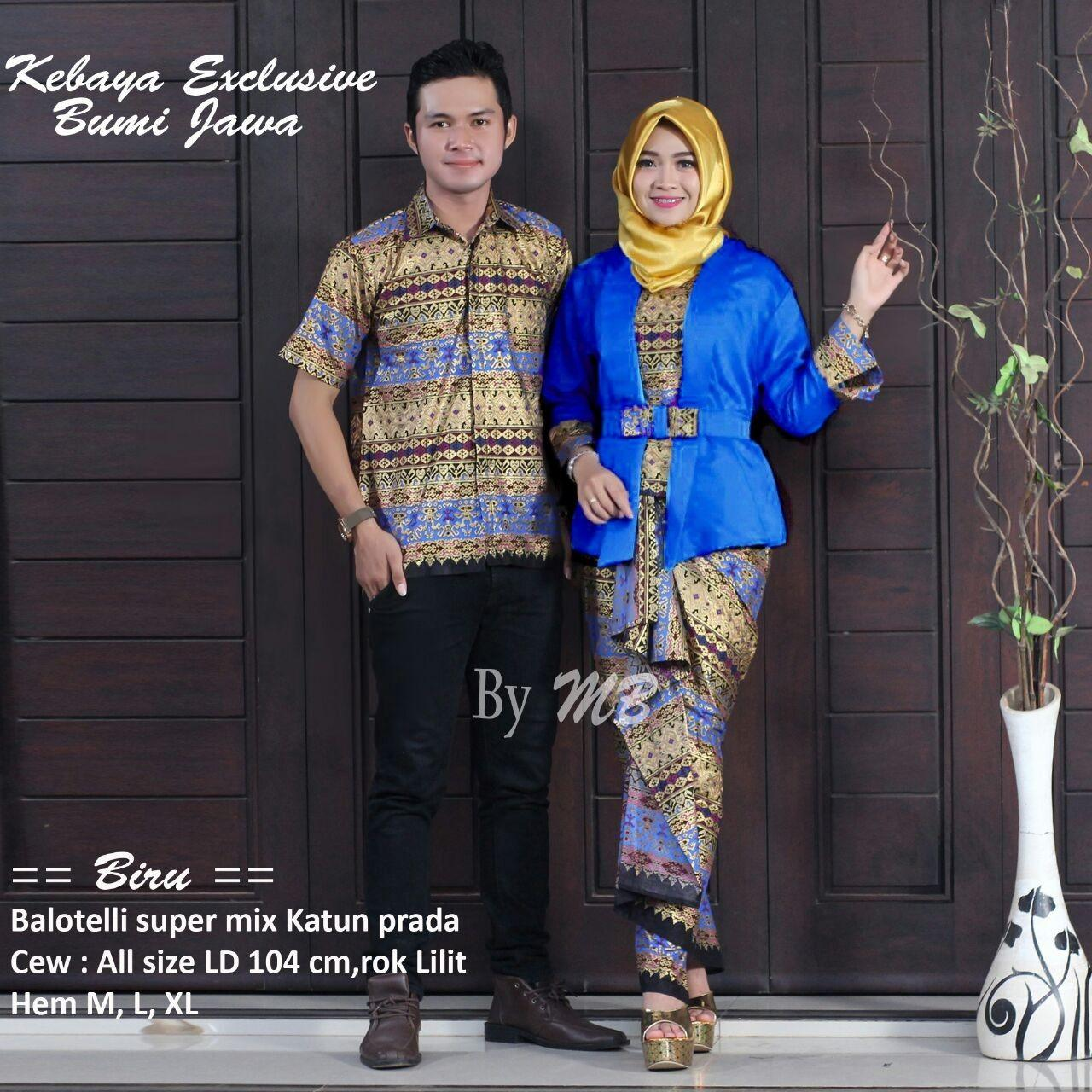 Batik Couple Kebaya Modern/ Trend saat ini /  Best Seller