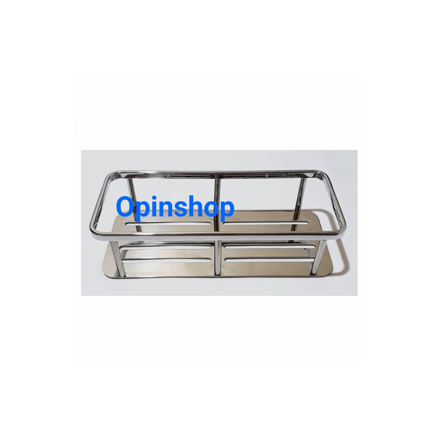 Harga rak persegi kamar mandi atau rak dapur stenlis panjang 40 cm | HARGALOKA.COM