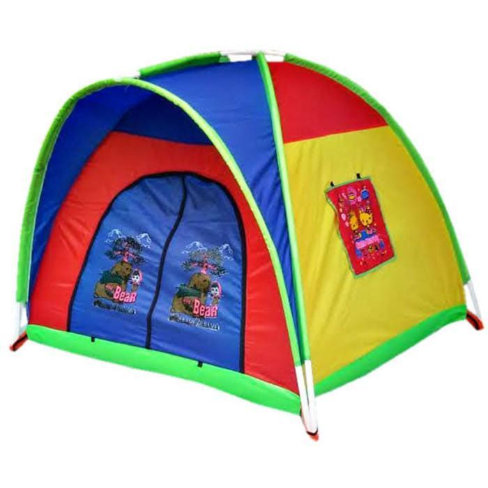 Tenda Anak Anak Size 1,2 Meter / Promo Tenda Camping Anak / Mainan Murah