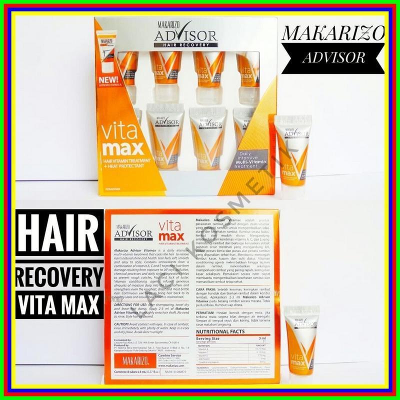 Vitamin Rambut Makarizo Hair Recovery 8 Ml Original