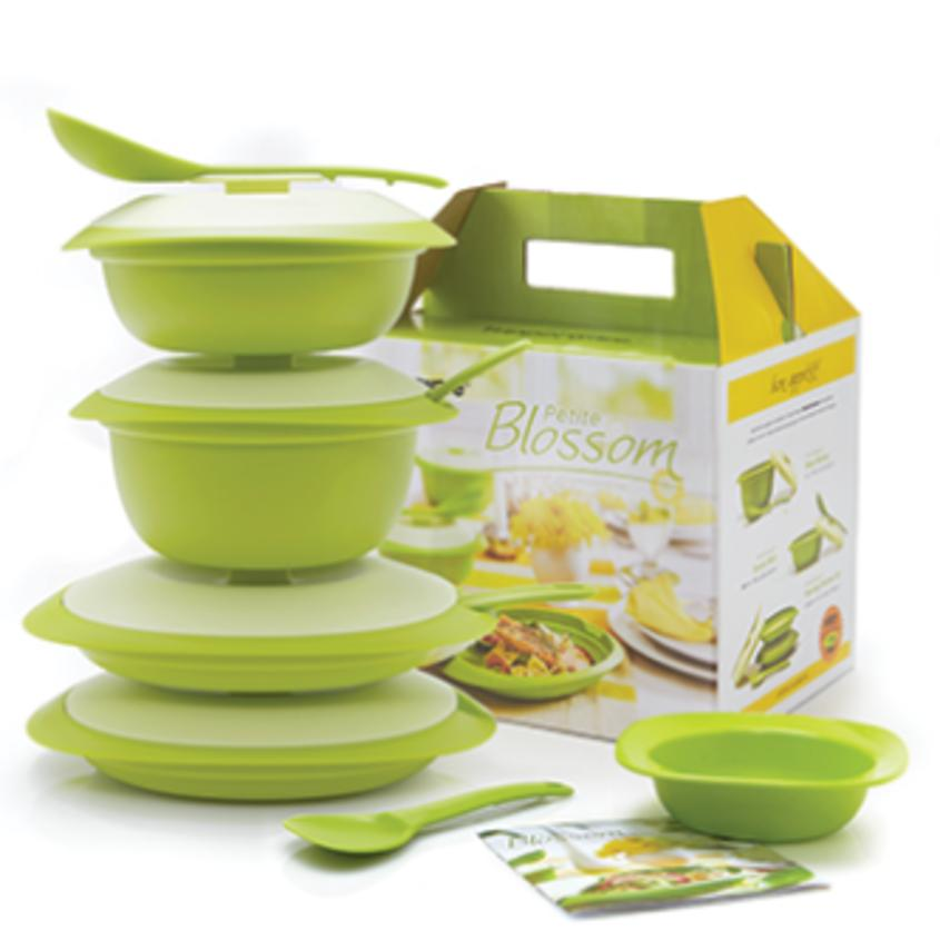 Tupperware Petite Blossom collection Free Bowl