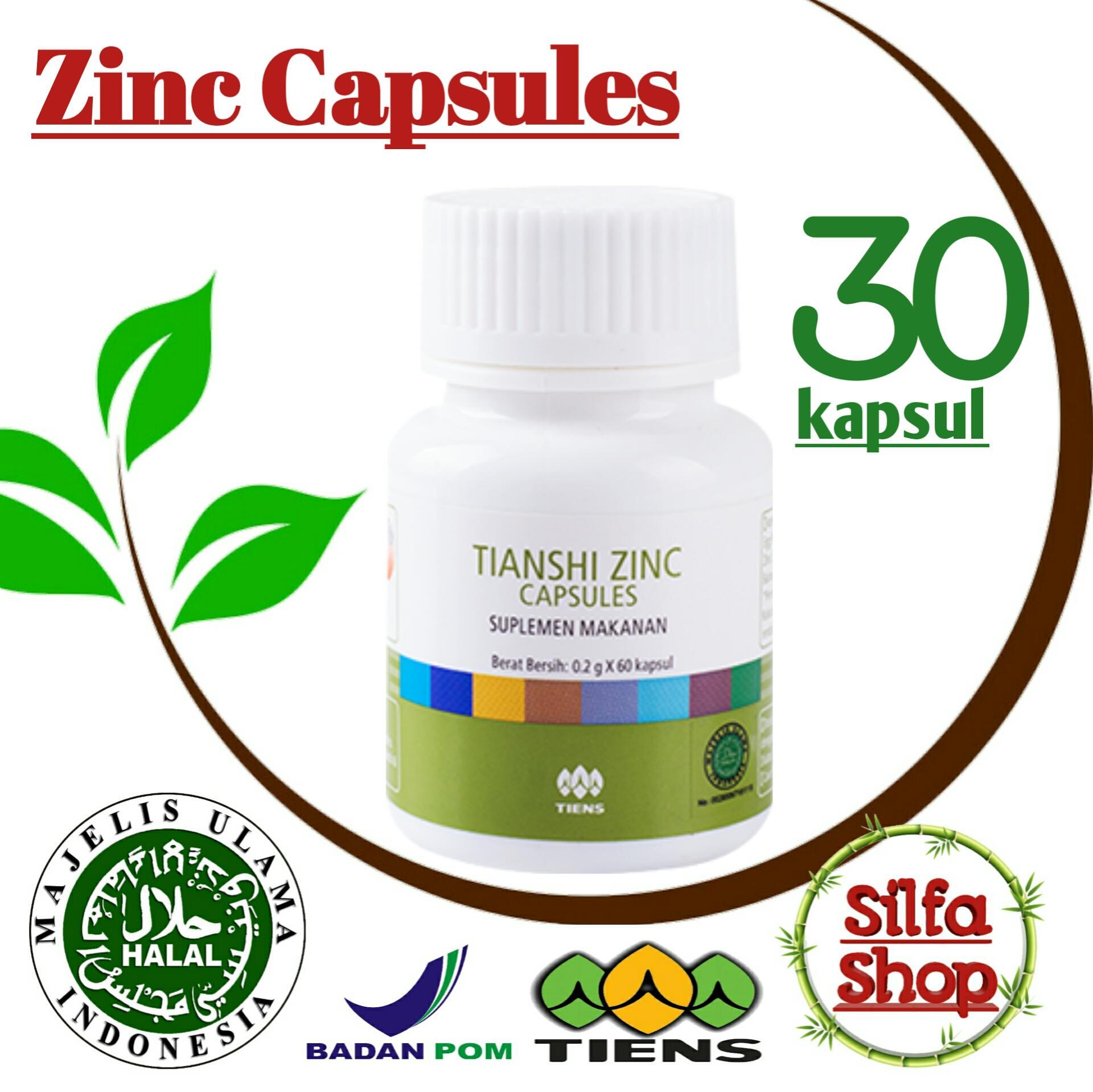 Promo RAMADHAN Tiens Herbal Penambah nafsu makan ( Zinc penggemuk badan serta Nutrisi Badan ) Isi